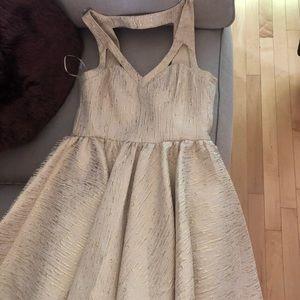 Golden Homecoming Dress